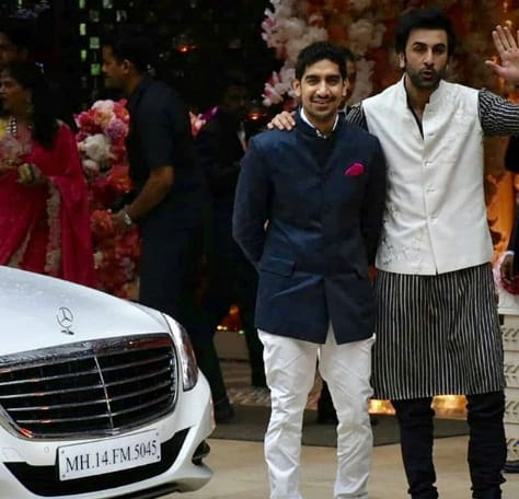 Ranbir Kapoor with Director Ayan Mukherjee