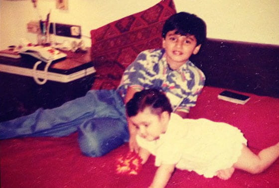 Arjun Kapoor Childhood
