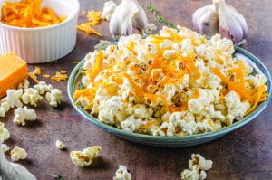 Cheese Garlic Popcorn