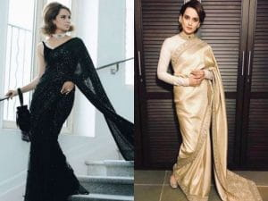 Saree Looks Of Kangana