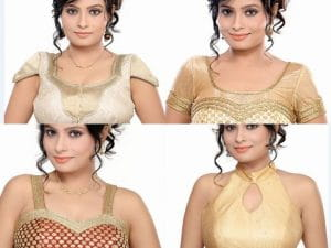 Stylish Front Blouse Designs