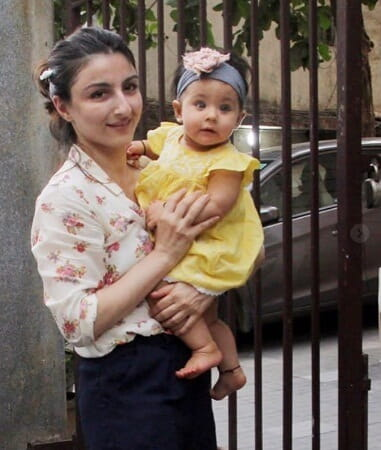 Baby of Soha Ali Khan