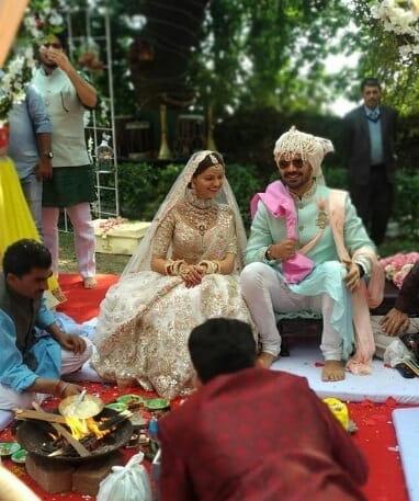 Rubina Dilaik and Abhinav Shukla Tied a knot