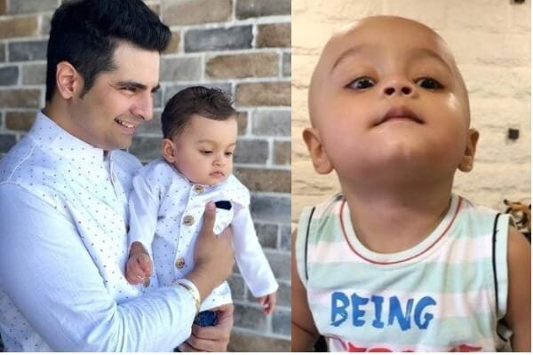 Karan Mehra's Son