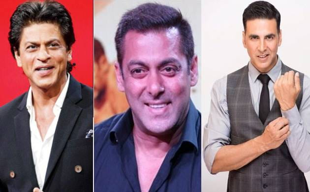 Shah Rukh, Salman and Akshay