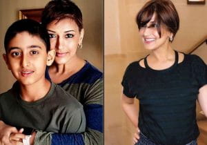 Sonali Bendre, cancer, Her Son