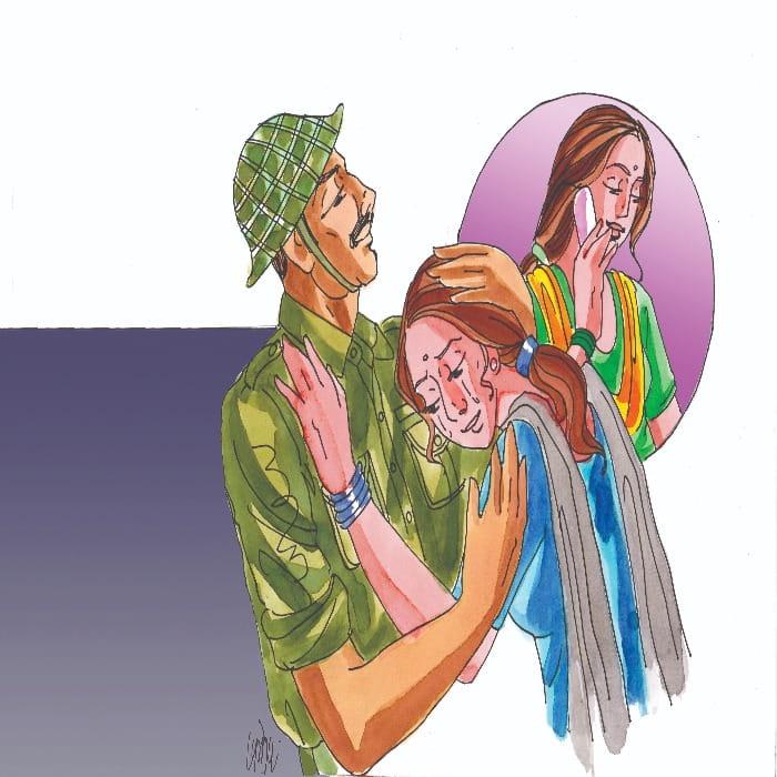 कहानी- फौजी की पत्नी 1 (Story Series- Fauji ki patni 1) | हिंदी स्टोरी | Hindi Kahani