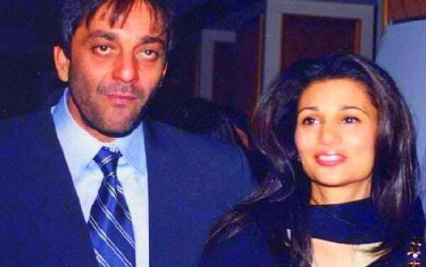 Sanjay Dutt and Riya Pillai