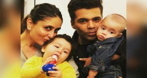 Karan and Kareen with kids