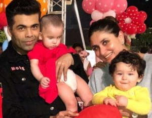 Karan and Kareena with kids