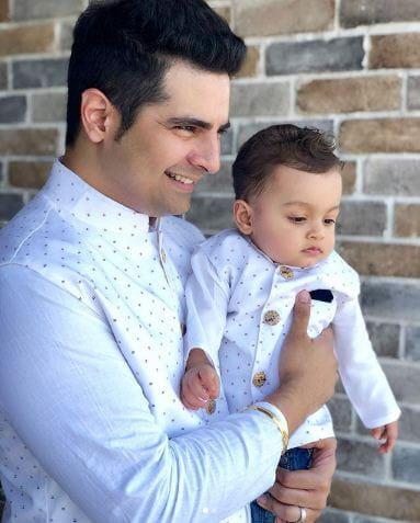 Pics of Karan Mehra's Son