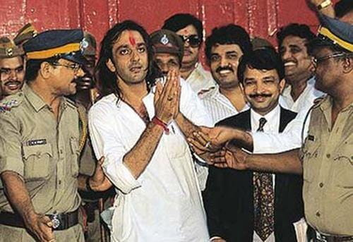 Sanjay Dutt Jail Pic
