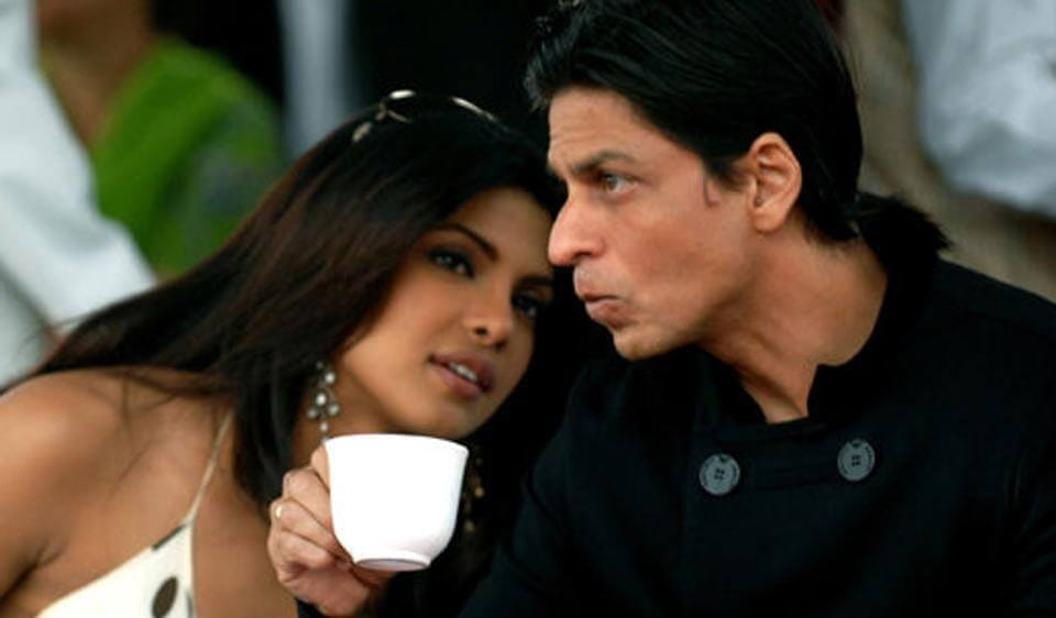 Priyanka Chopra and Shah Ruk