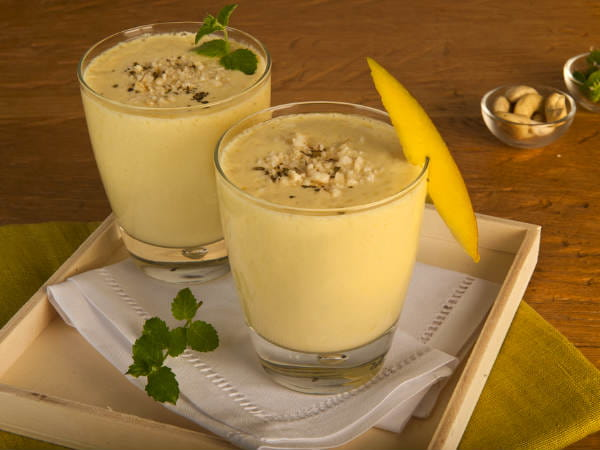 Banana Walnut Lassi