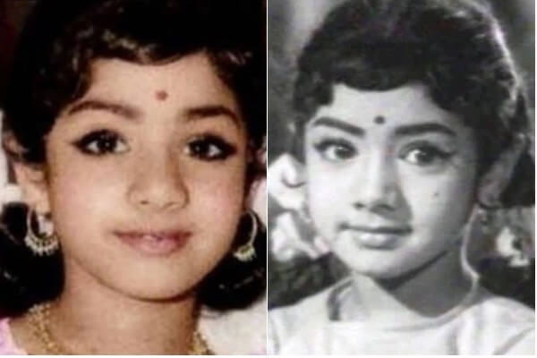 Sridevi Childhood Pic