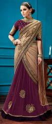 Nehru Collar Saree Blouse