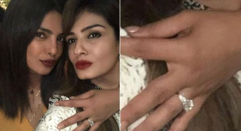 Priyanka Chopra's Engagement Ring