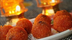 Carraot laddoo