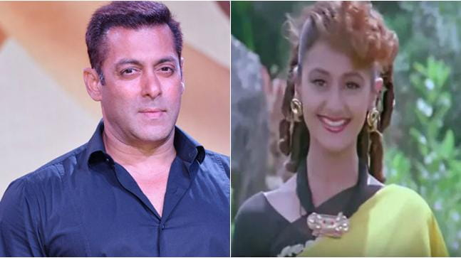Pooja Dadwal and Salman Khan
