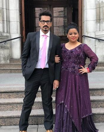 Bharti Singh With Husband