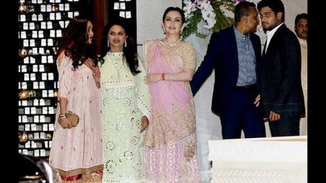 Isha Ambani Engagement Video