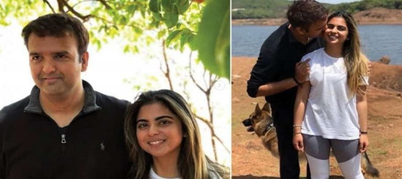 Isha Ambani and Anand Piramal Photos
