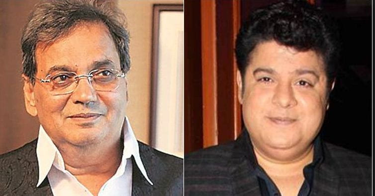 Sajid Khan And Subhash Ghai