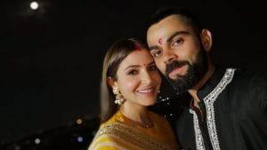 Virat Kohli and Anushka Sharma's Karva Chauth