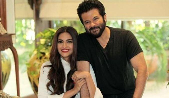Anil and Sonam Kapoor