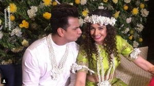 Yuvika Chaudhary And Prince Narula's Mehendi Celebration
