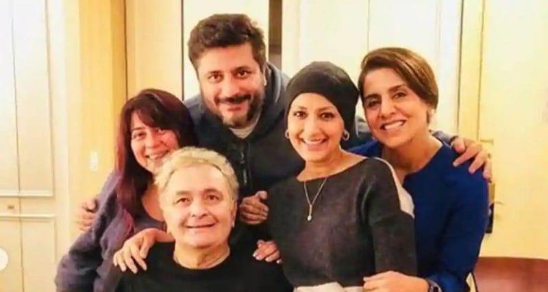 Sonali Bendre visit Rishi Kapoor