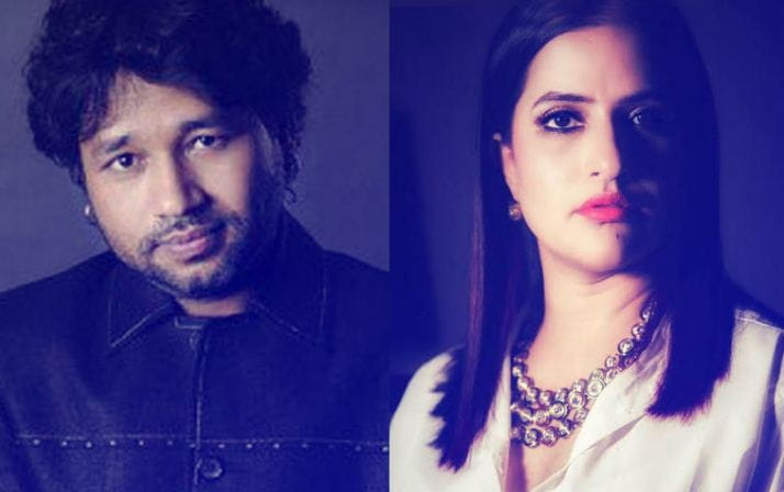 Kailash Kher and Sona Mohapatra