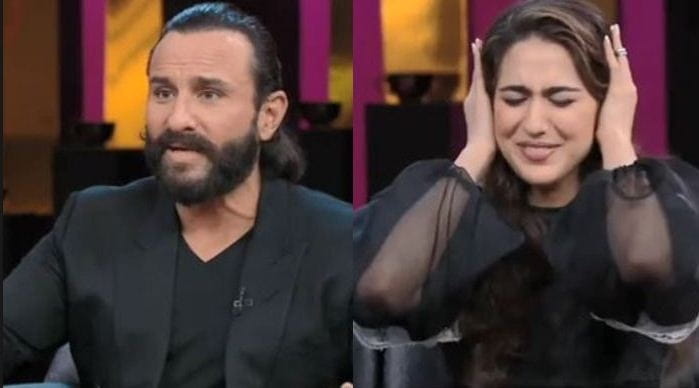 Saif Ali Khan With Daughter