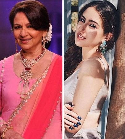 Sharmila Tagore And Sara Ali Khan