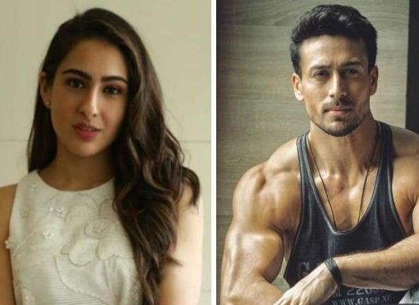 Sara Ali Khan And Tiger Shroff