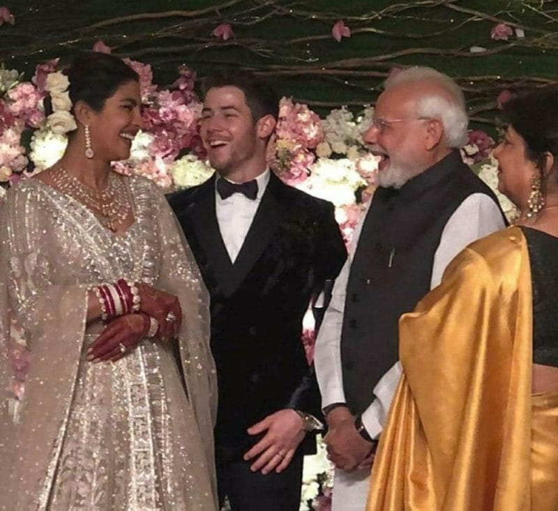 Priyanka Nick Wedding Reception