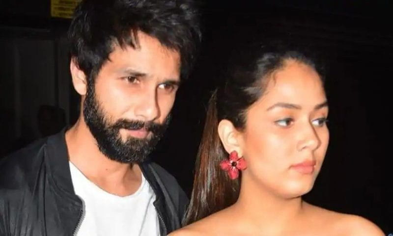 Shahid Kapoor and His Wife