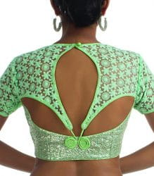 back neck design blouse