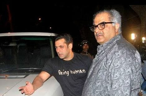Salman Khan With Boney Kapoor