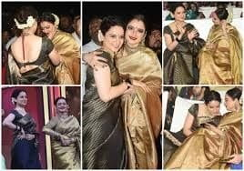 Rekha and Kangana