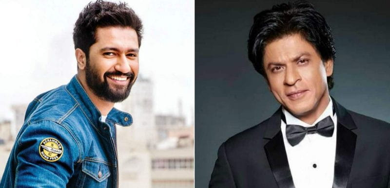 Vicky Kaushal and Shah Rukh Khan
