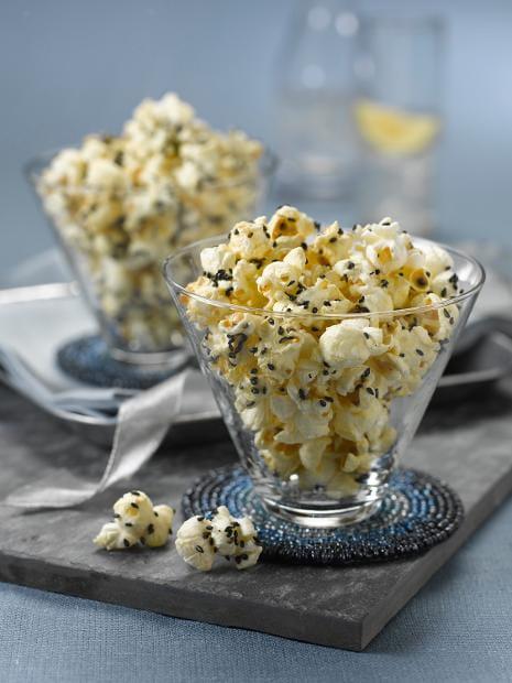 Spicy Sesame Popcorn