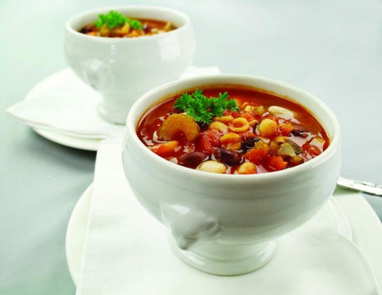 Bean-Pasta Soup