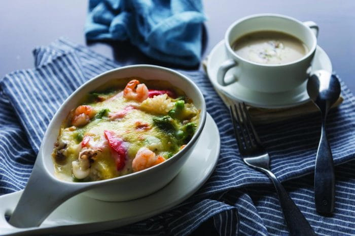 Creamy Mix Vegetable Risotto