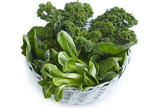 Green Leafy Vegetables: