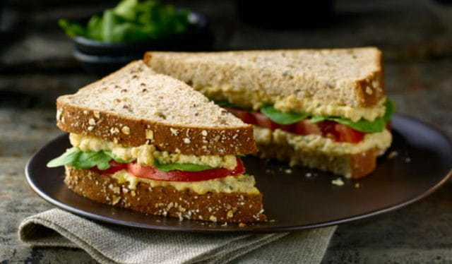 Palak Paneer Sandwich