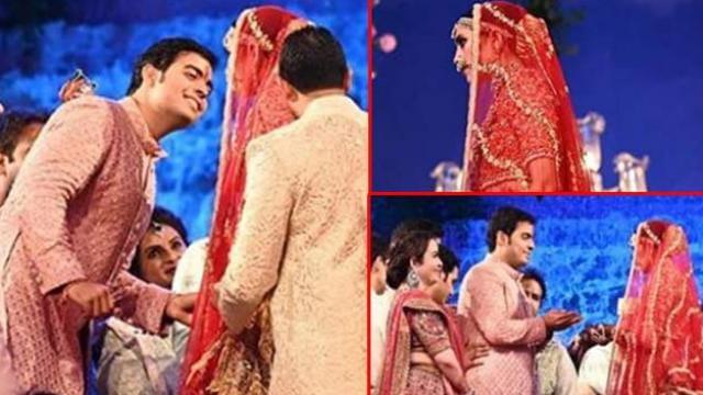 Akash Ambani-Shloka Mehta Wedding