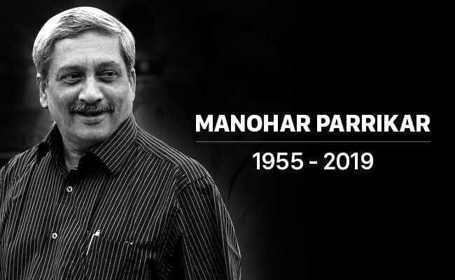 CM Manohar Parrikar