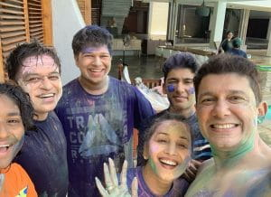 Celebrities Holi Celebrations