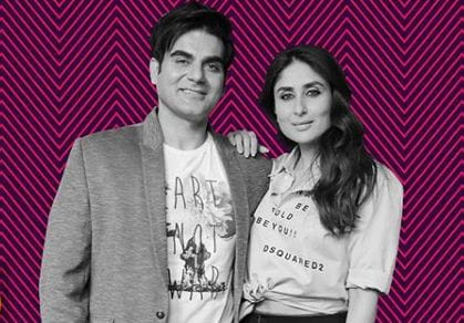 Arbaaz Khan and Kareena